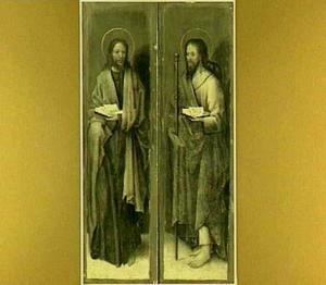H. Johannes de Evangelist (links); H. Jacobus de Meerdere (rechts)