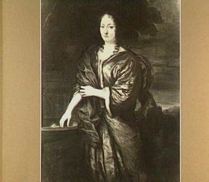 Portret van Geertuij Terborch (....-1712)