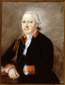 Portret van Gerrit Maurits van Dieren (1731-1809)