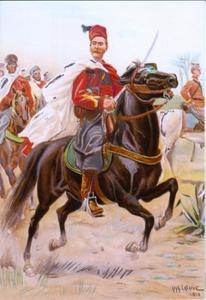 Sergeant bij de Spahis