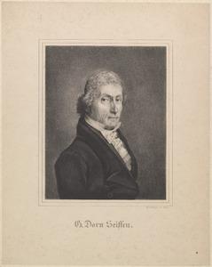 Portret van Gerardus Dorn Seiffen (1774-1858)