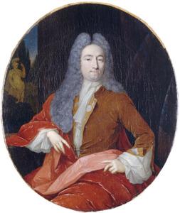 Portret van Phillips van der Goes (1682-1747)