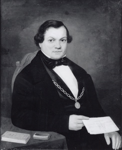 Portret van Henri van den Heuvel (1814-1890)