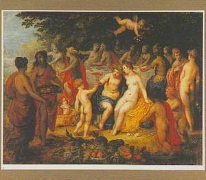 Het bruiloftsmaal van Bacchus en Ariadne