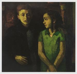Portret van Philip Corper (1926-1942) en Judith Corper (1928-1942)