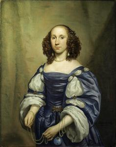 Portret van Maria van Reigersberg (1628-1673 )