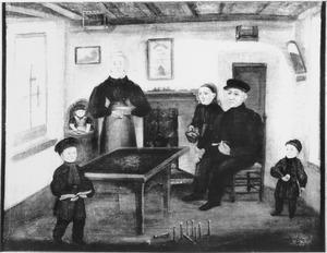 Een zutphens interieur in 1840