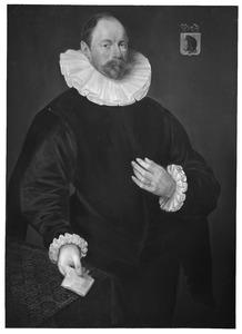 Portret van Paulus Cornelisz. van Beresteijn (1548-1625)