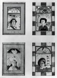 Vier portretten van koningin Juliana (1909-2004)