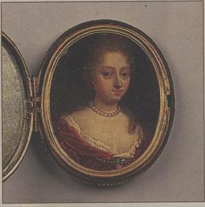 Portret van Sofia van Noortwijck (1672-1710)