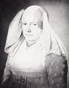 Portret van Menke Krijthe (1790-1844)