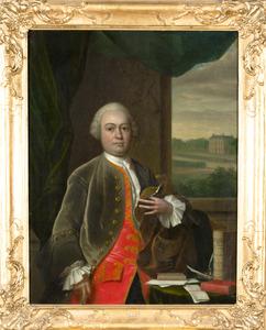 Portret van Johan Gualtherus van der Poort (1713-1784)