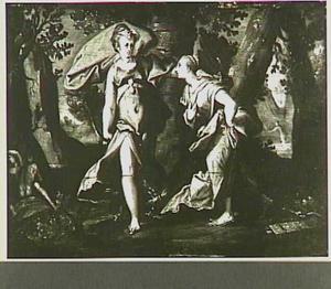 Jupiter verschijnt aan Callisto in de gedaante van Diana