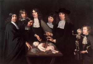 Anatomische les van dr. Frederik Ruysch