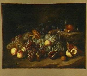 Vruchtenstilleven met roemer