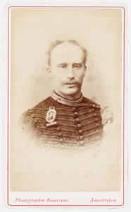 Portret van Bastiaan Adriaan Sanders (1849-1921)