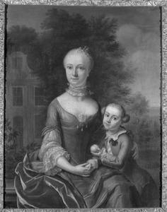 Portret van Isabella Lucretia Barchman Wuytiers (1731-?) en Jan Carel graaf Godin (1752-1787)