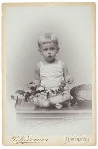 Portret van Sebastiaan Cornelis Herman Nederburgh (1896- )