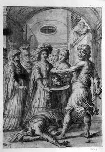 De onthoofding van Johannes de Doper
