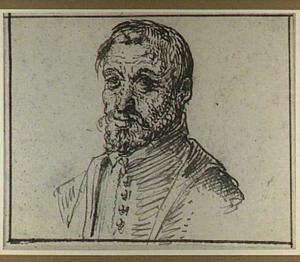 Portret van een man, mogelijk een laat zelfportret