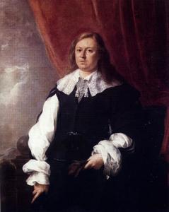 Portret van Joshua van Belle, koopman in Spanje, burgemeester van Rotterdam (1637-1710)