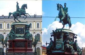 Ruiterstandbeeld van Nicolaas I