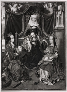 De H. Anna-te-Drieën en de HH. Catharina en Barbara