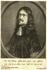 Portret van Simon Peter Tilman (1601-1668)
