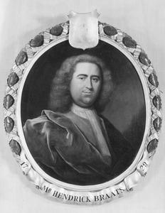 Portret van Hendrik Braets (1702- )