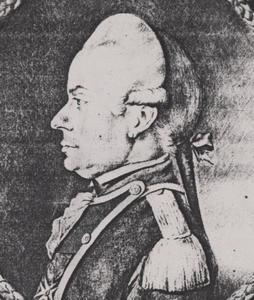 Portret van Theodorus Jan Baptist van Eeckhout (1734- )