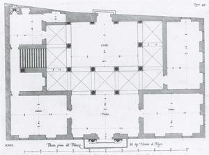 Palazzo di Negro: Grondplan