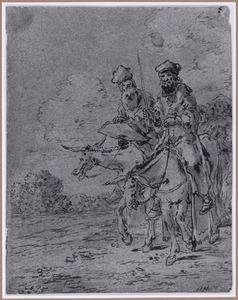 Doktoren op muilezels (Suenos 1641, boek II, vierde droom)