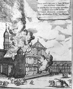 Brand van de Sint-Carolus Borromeuskerk te Antwerpen