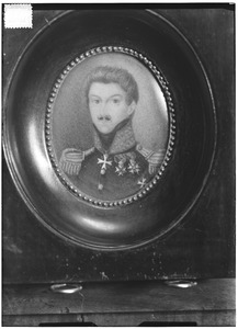 Portret van Antonie Frederik Jan Floris Jacob van Omphal (1788-1863)