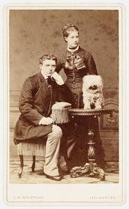 Portret van Hendrik Johannes Ladenius (1854-1925) en Catharina Elisabeth Beucker Andreae (1853-1950)