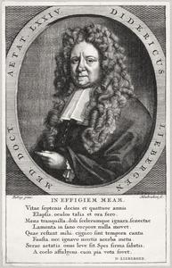 Portret van Didericus Liebergen ( -1705)