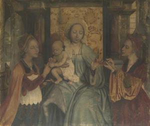 Het mystieke huwelijk van de H. Catharina