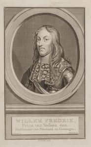 Portret van Willem Frederik van Nassau -Dietz (1613-1664)