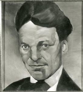 Portret van Kurt Schwitters