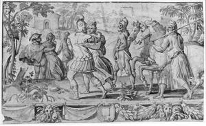 De bruiloftsstoet van Neptunus en Amphitrite