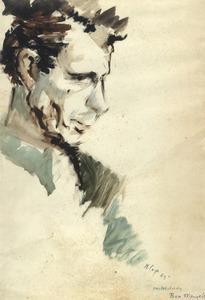 Portret van Hubertus Johannes Mengels (1921-1995)