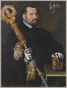 Portret van een abt