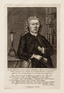 Portret van Thomas Hellinx (1715-1777)