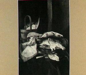 Stilleven met vis en gevogelte