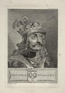 Portret van Willem II van Holland (1228-1256)