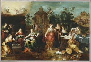 De vijf wijze en de vijf dwaze maagden (Matteüs 25:1-13)