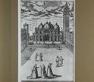 Venetië, Piazza S. Marco (links) en Piazzetta S. Marco (rechts)