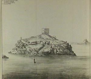 Het eiland Consadaci oftewel Scala Nova