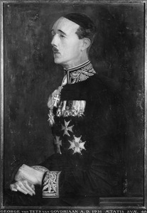 Portret van George Catharinus Willem van Tets (1882-1948)
