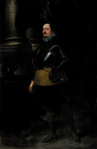 Portret van een onbekende Italiaanse edelman